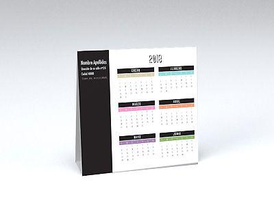 impresion para Calendario  Mesa · Automontable