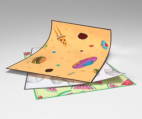 Impresión de Manteles de Papel