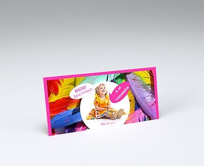 impresion para Tarjetas de cumpleaños - Kiddy (210 x 95 mm)
