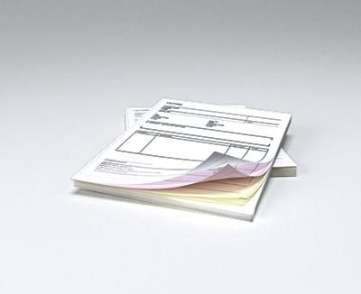 impresion para Talonarios autocopiativos: Original y 2 copias