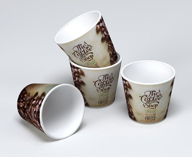 impresion para Vaso de carton cafe expreso