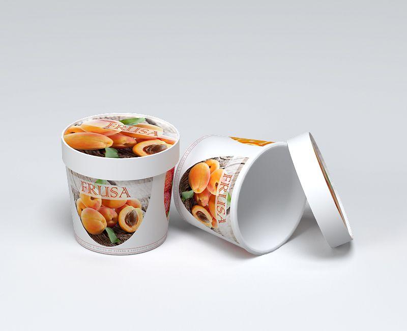 impresion para Tazon de cartón para alimentos